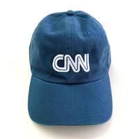 CNN  BASIC LOGO CAP BLUE オフィシャルグッズ キャップ