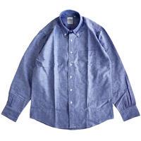 THE BAGGY  OXFORD L/S BD SHIRTS  BLUE オックスフォード ボタンダウンシャツ バギー