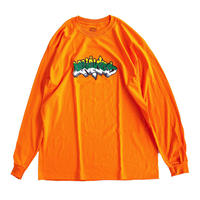 IGGY NYC for Delicious LS TEE SAFETY ORANGE  長袖Tシャツ