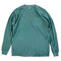 COMFORT COLORS 6.1oz L/S Pocket TEE LIGHTGREEN コンフォートカラーズ ロンT 長袖Tシャツ
