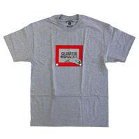 QUARTER SNACKS Sketch Tee GREY  クォータースナックス Tシャツ