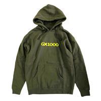 GX1000 OG LOGO HOODIE  ARMY パーカー