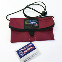 Tough Traveler / FLAP NECK POUCH MOD S Burgundy タフトラベラー USA  ポーチ サコッシュ