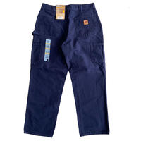 CARHARTT  B11 WASHED DUCK WORK DUNGAREE MIDNIGHT NAVY カーハート ダックペインターパンツ