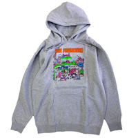 GX1000 TOURIST HOODIE GREY HEATHER パーカー