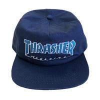 THRASHER  OUTLINED SNAPBACK Navy/Grey  スラッシャー キャップ