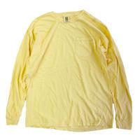 COMFORT COLORS 6.1oz L/S Pocket TEE  BUTTER コンフォートカラーズ ロンT 長袖Tシャツ