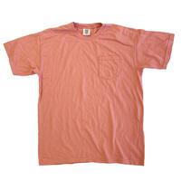 COMFORT COLORS 6.1oz S/S Pocket TEE TERRACOTA コンフォートカラーズ Tシャツ 後染め
