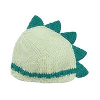 恐竜帽ボルトグリーン×ペールミント[T20]