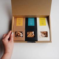 【全国発送】無添加クッキー チーズサブレ3種食べ比べBOX