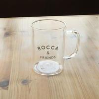 【全国配送】ROCCAロゴ入り耐熱グラス
