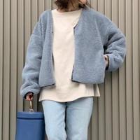 short boa jacket(R-0010)
