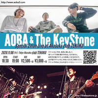 AOBA & The KeyStone Special 2man Live - 前売予約電子チケット