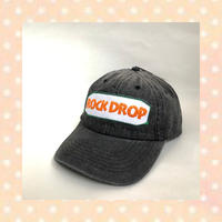 「ROCK DROP」CAP / Black denim