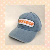 「ROCK DROP」CAP / Light blue denim