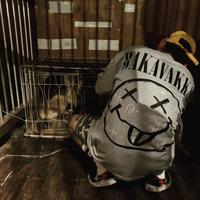 BAKAVAKKA original S/S Tシャツ Gray (RV051)