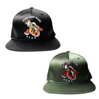 SATIN SNAP BACK CAP (RV035)