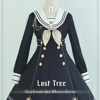 Lost Tree・帆風~Akademie der Meeresbriste 長袖ワンーピース