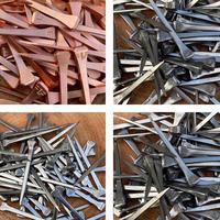 新品 蹄鉄 釘 4種類 40本