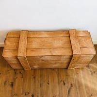 梱包木箱 塗装品 Lサイズ  1箱