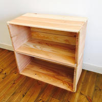新品  りんご箱 2箱 / 販売 木箱 ウッドボックス 収納 箱