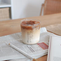 《 ROGE SEOUL製作 》HOME CAFE GLASS [VERTICAL]