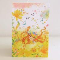 ポストカード 小鳥姫