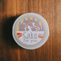 ろくキッチンオリジナルマスキングテープ~Cake for you~