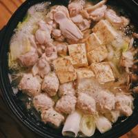 阿波尾鶏の鍋スープ
