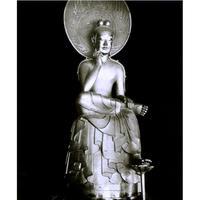 ハイブリッド仏像ポスター「中宮寺如意輪観音」(全身)全紙サイズ