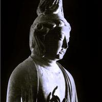 ハイブリッド仏像ポスター「秋篠寺伎芸天」(半身)四つ切サイズ