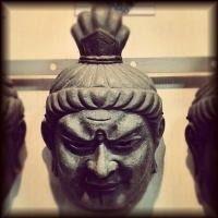 中の坊中坊竜堂作古楽面「東大寺戒壇堂四天王広目天」