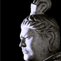 ハイブリッド仏像ポスター「東大寺戒壇堂四天王広目天」(御顔)四つ切サイズ