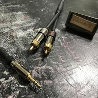 ステレオミニプラグ3.5mm to RCAプラグ変換ケーブル(オーダー製作品)