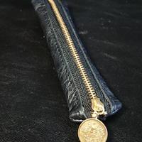 古銭ファスナー棒型小銭入れ