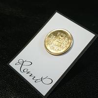 50銭ピアス(片耳)