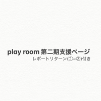play room第二期支援ページ 【レポートリターン(①~③)付き】