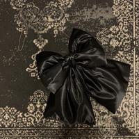 リボンポシェット:ブラック