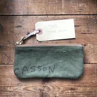 Vintage canvas pouch (065)