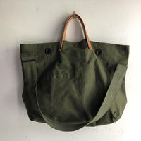 #1124 1960's duffle messenger bag