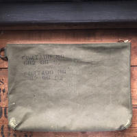 1940~50's zip pouch large
