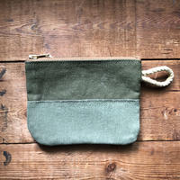 1960's canvas pouch (#48)