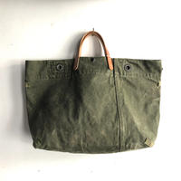 #1185 early 1960's duffle messenger bag