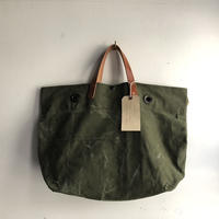 #1210 1960's local made duffle messenger bag