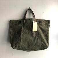 #1213 1970's duffle messenger bag
