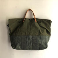 #1059 1960's duffle and 1980's kitbag mashup messenger