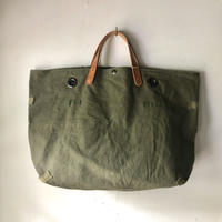 #874 1950's duffle messenger bag