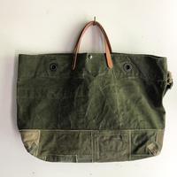 #1368 1960's duffle patchwork messenger bag