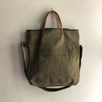 #1056 1940's field cargo bag with shoulder strap