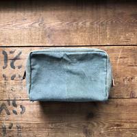 1980's canvas pouch scovill zipper #5